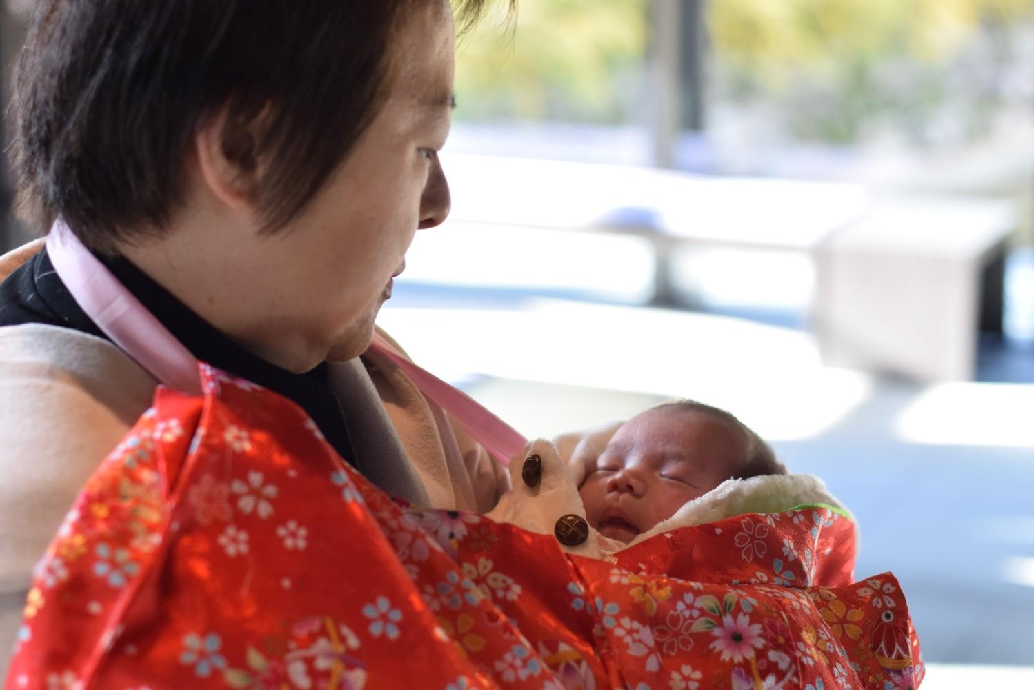 赤ちゃん お宮参り2